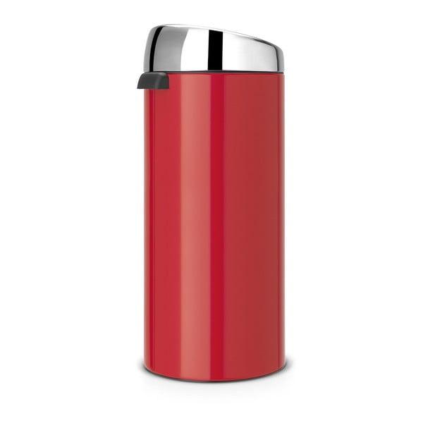 Dotykový odpadkový Kôš Touch Bin, 30 l, vášnivá červená