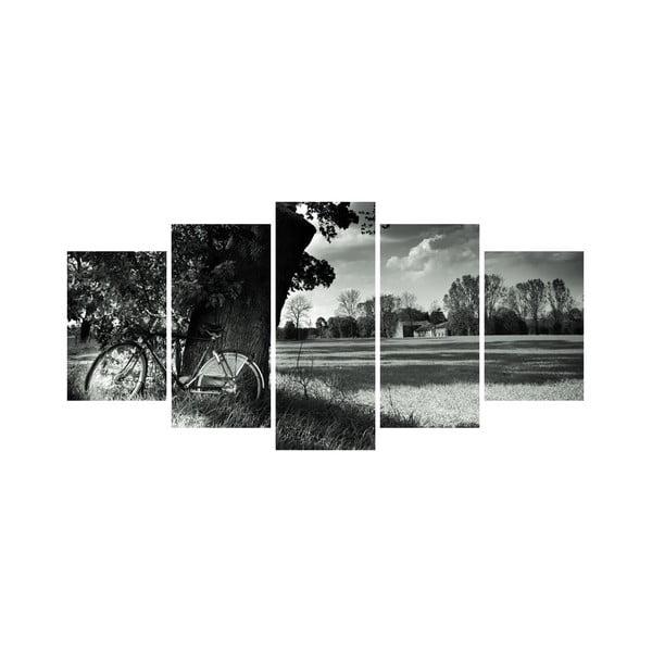 Viacdielny obraz Black&White no. 68, 100x50 cm