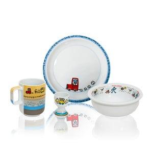 Detský raňajkový set Silly Design Robots
