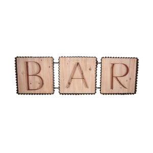 Dekoratívna ceduľa Antic Line Bar