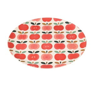 Bambusový tanier Rex London Vintage Apple, ⌀ 25 cm