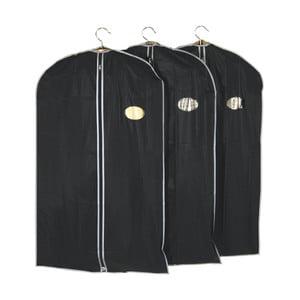 Sada 3 obalov na oblečenie Closed, 60x100 cm