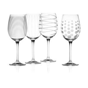 Sada 4 pohárov na biele víno Mikasa, 450 ml