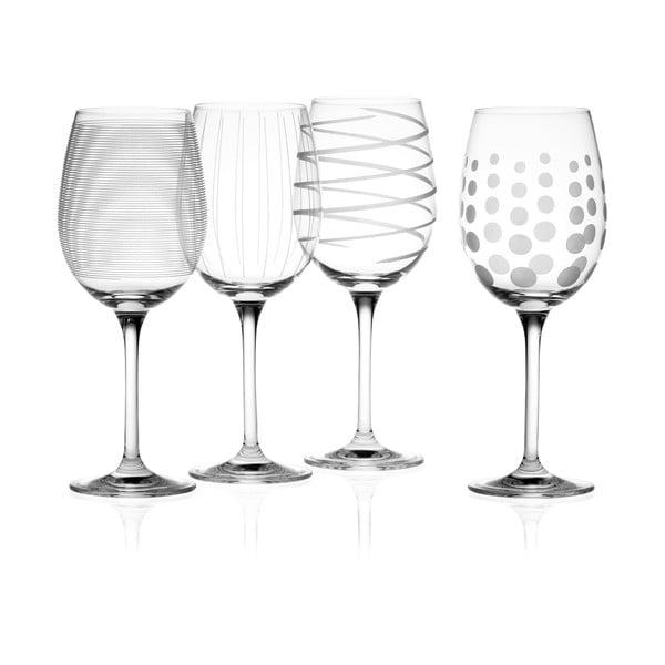Sada 4 pohárov na biele víno Mikasa
