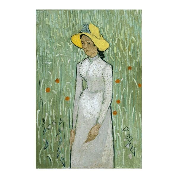 Obraz Vincenta van Gogha - Girl in White, 40x26 cm