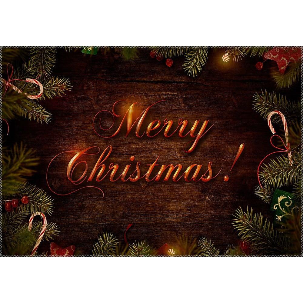 Vianočný sviatok Koberec Vitaus, 50 x 80 cm
