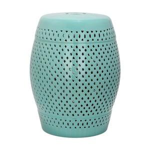 Tyrkysový keramický stolík Safavieh Diamond