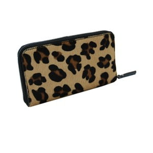 Kožená peňaženka so vzorom Andrea Cardone Leopard L
