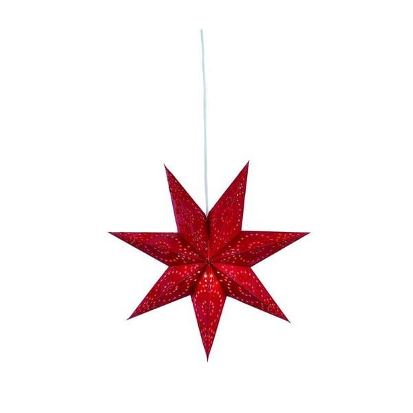 Svietiaca hviezda Aratorp Red, 45 cm