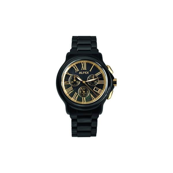 Pánske hodinky Alfex 56297 Black/Black