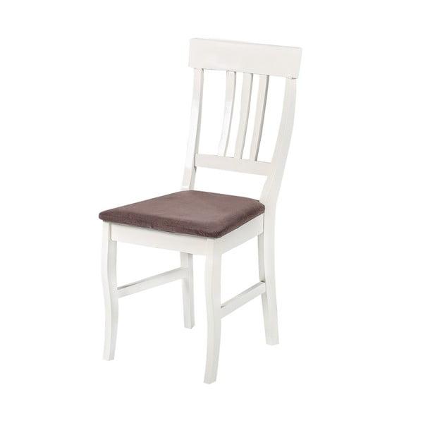 Jedálenská stolička Supreme, hnedý podsedák