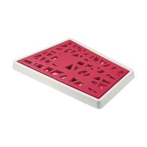 Červená krájacia doska Koziol Matrix