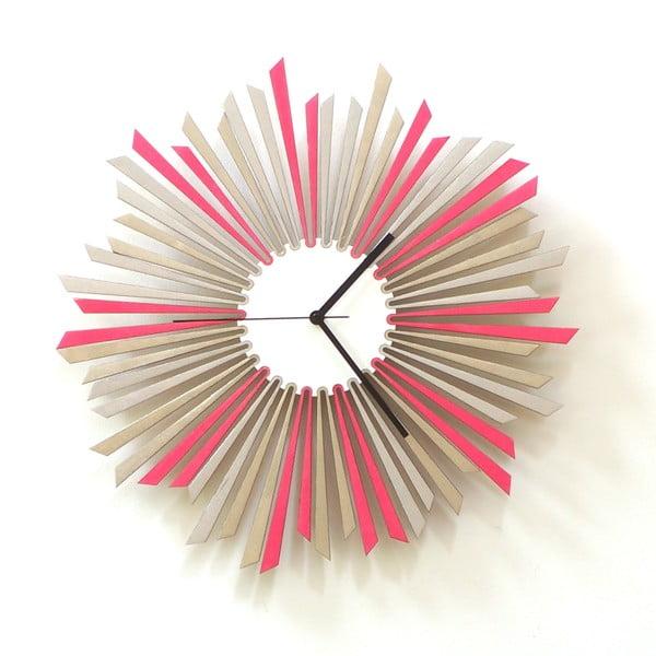 Drevené hodiny The Star, 41 cm
