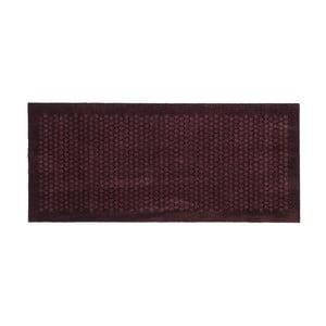 Tmavovínová rohožka Tica Copenhagen Dot, 67 x 150 cm