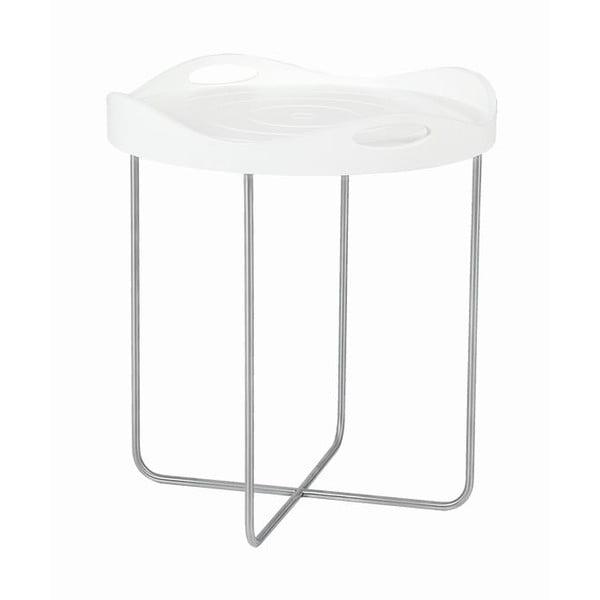 Odkladací stolík Handy Coffee White