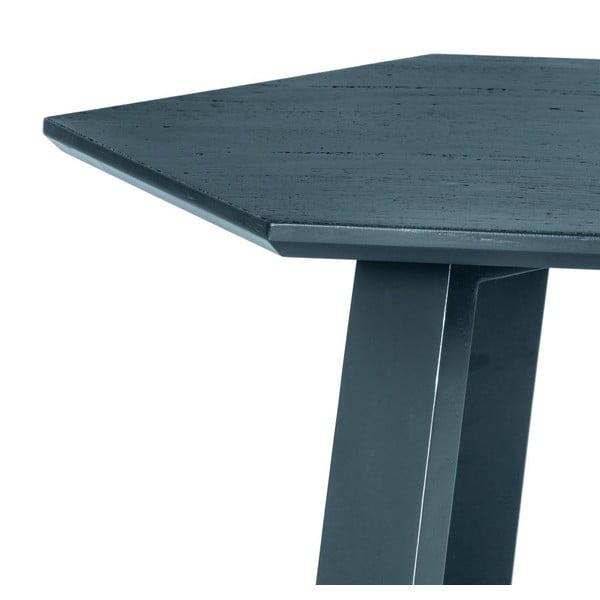 Konferenčný stolík Hexagon Light Grey, 105x37x61 cm