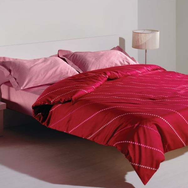 Sada obliečok a plachty Spotty Pink, 200x220 cm