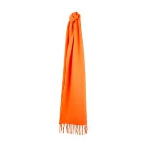 Oranžový kašmírový šál  Sinclair Duncan