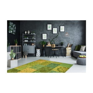 Zelený koberec Obsession My Milano Green, 57×110 cm