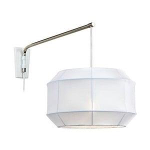 Nástenné svetlo Corse White/Silver