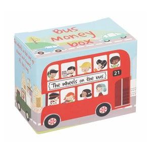 Porcelánová pokladnička Churchill China Bus