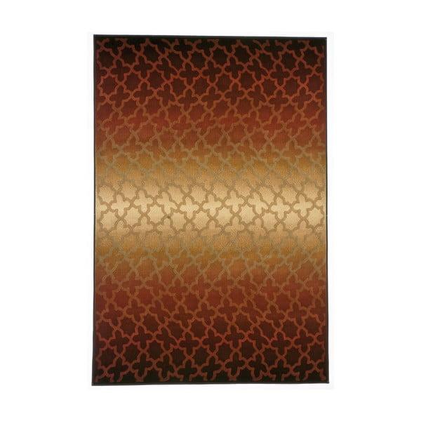 Koberec Duero, 100x150 cm, hnedý