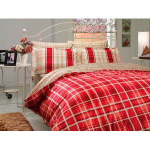 Obliečky Suelita Red, 200x220 cm