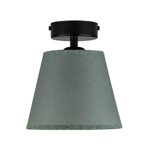 Olivovozelené stropné svietidlo Sotto Luce IRO Parchment, ⌀ 16 cm