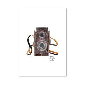Autorský plagát Camera, 30x42 m