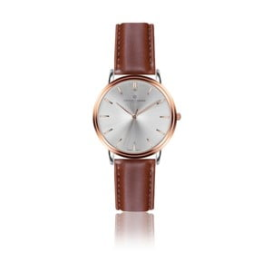 Pánske hodinky s koňakovohnedým remienkom z pravej kože Frederic Graff Rose Breithorn Cognac Leather