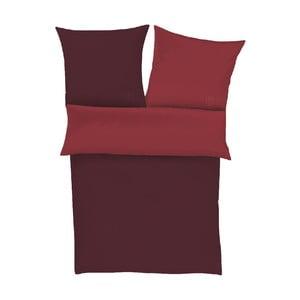 Obliečky Plain Red, 140x200 cm