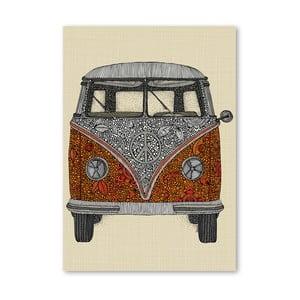 Autorský plagát The Van od Valentiny Ramos