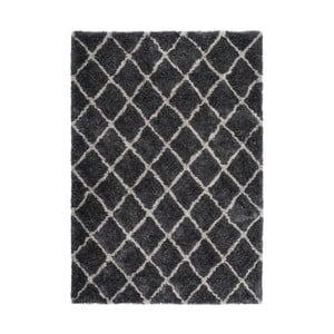 Čierny koberec Kayoom Finesse, 120 x 170 cm