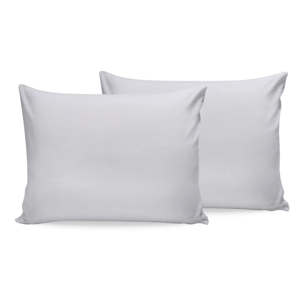 Sada 2 bielych bavlnených povlakov na vankúš Beverly Hills Polo Club, 50 x 70 cm