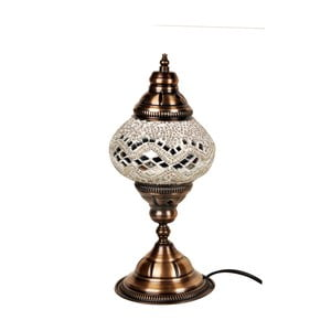 Sklenená lampa Homemania Dianthe, ⌀13cm