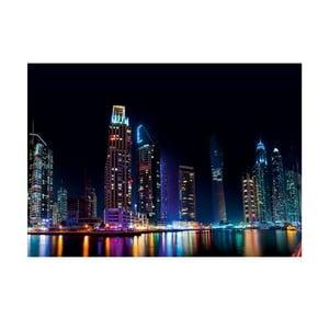 Obraz Dúhová noc, 70x100 cm