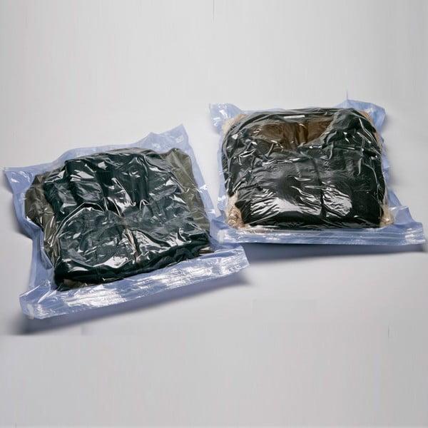 Vákuové obaly na oblečenie Compactor Lila M, 2 ks