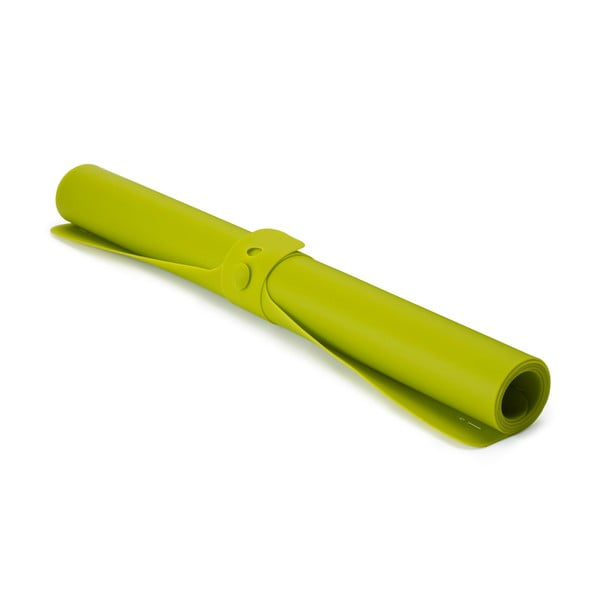Zelená silikónová podložka Joseph Joseph Roll up, dĺžka 74 cm