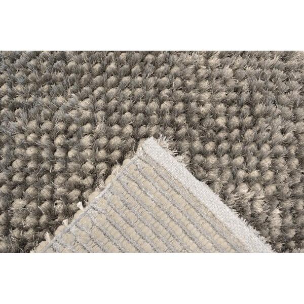 Ručne tkaný koberec Bakero Dessert Graphite, 80 x 150 cm