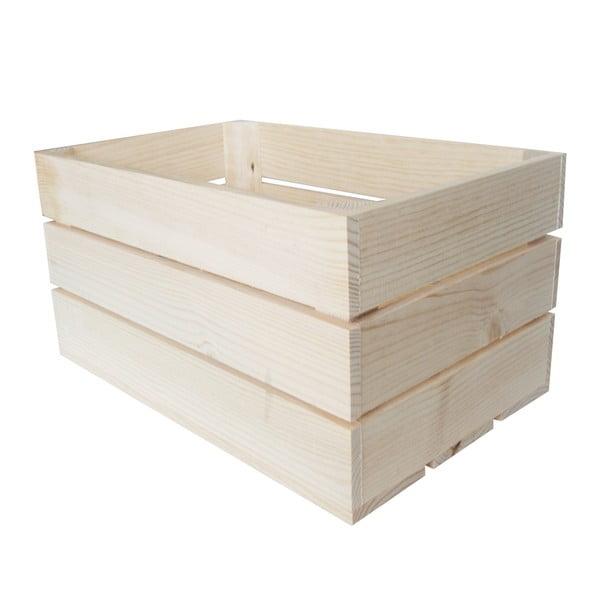 Prepravka Caja Rustica Natural, 50x25x30 cm
