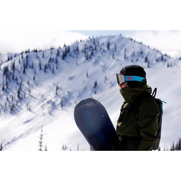 Detské lyžiarske okuliare Electric EGVK Orange Blast White - Bronze, veľ. S