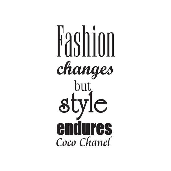 Dekoratívna nástenná samolepka Fashion