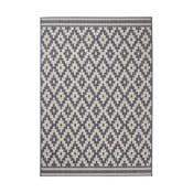 Antracitový koberec Think Rugs Cottage, 120×170cm