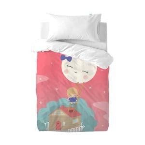 Detské obliečky z čistej bavlny Happynois Moon Dream, 100×120 cm