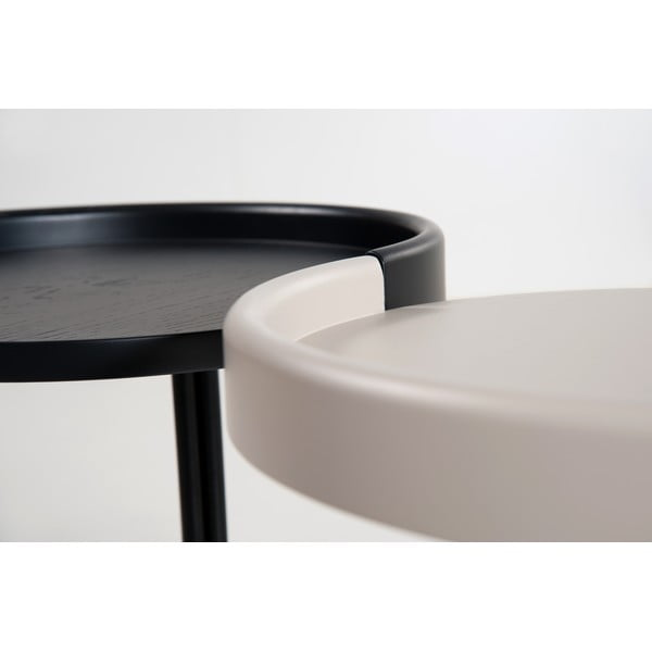 Odkladací stolík E-klipse AL2, biely