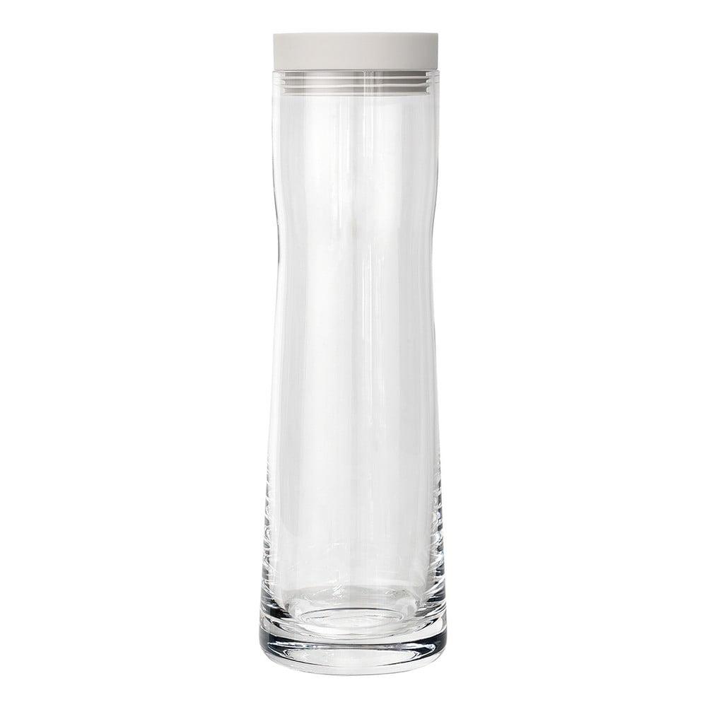Karafa na vodu s bielym vrchnákom Blomus Splash, 1 l