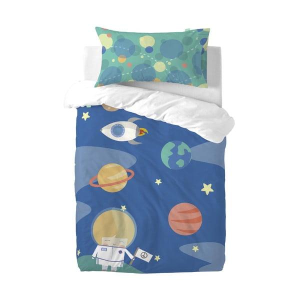 Detské obliečky z čistej bavlny Happynois Astronaut, 115×145 cm