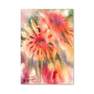 Plagát Abstract Flowers od Suren Nersisyan