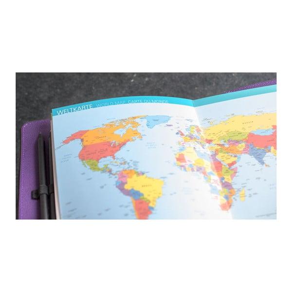 Cestovateľský denník na zážitky a suveníry Trip Book ZigZag