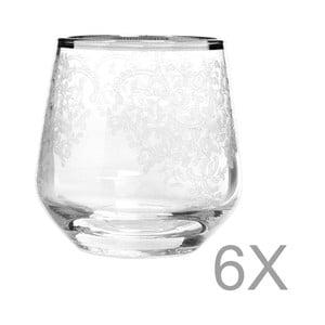 Sada 6 pohárov Mezzo Snow, 95 ml